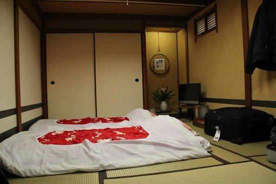 Ryokan Nakajimaya: Zimmer