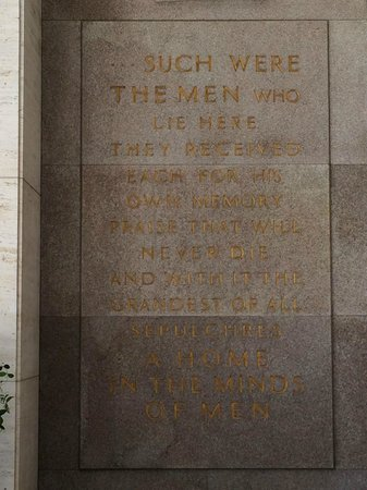 Florence American Cemetery: memorial