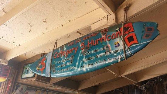 Sandbar Sports Grill: Category 5 Hurricane