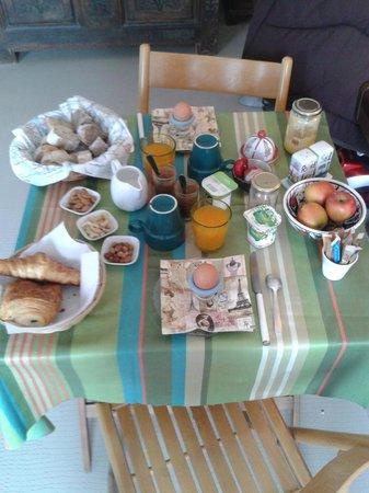 Les Toits du Marais : Colazione
