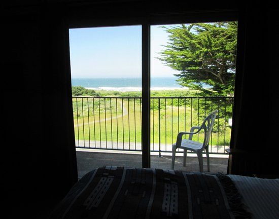 Inn of the Beachcomber: view from inside a room