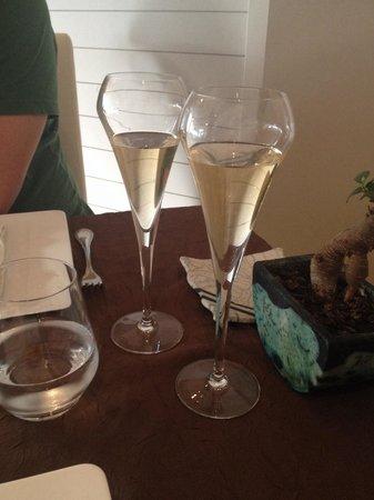 Le don quichotte: Flûte de champagne