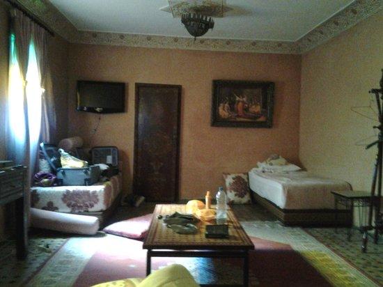 Riad Meknes: notre chambre