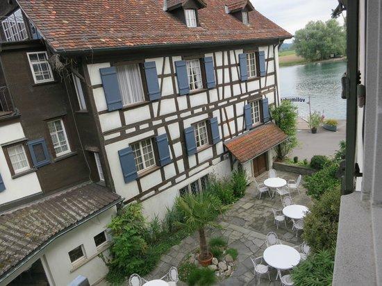 Hotel Drachenburg & Waaghaus: Blick auf den Untersee