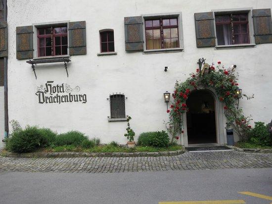 Hotel Drachenburg & Waaghaus: Hoteleingang