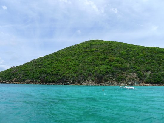 Guana Island: British Virgin Island mountains