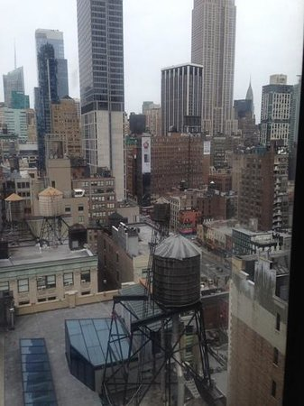 Holiday Inn NYC - Manhattan 6th Avenue - Chelsea: view from our room