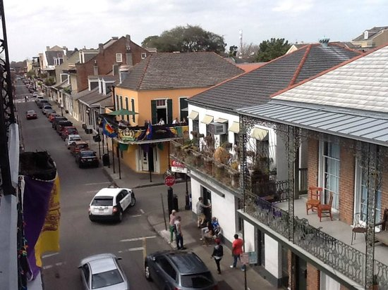 Biscuit Palace Guest House : the othe side from balcony - to my left
