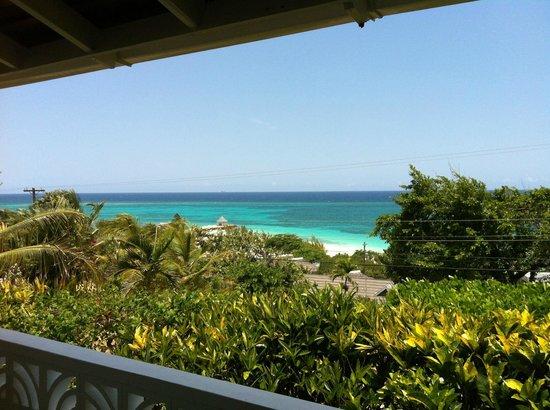 Silver Sands Vacation Villas: view from veranda at Seagull