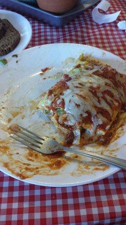 Southwest Diner : Italian omlette