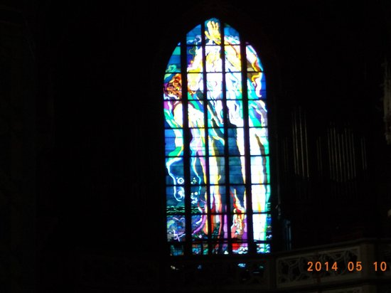 Franciscan Church (Kosciol Franciszkanow) : Amazing Stained Glass Window