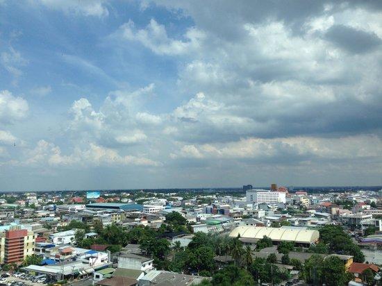 Pullman Khon Kaen Raja Orchid: view from 10th fl