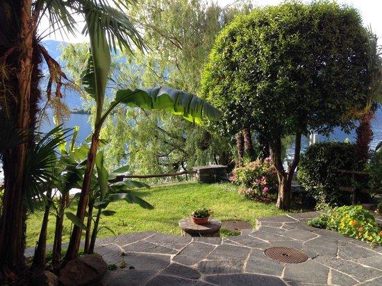 Art Hotel Posta al Lago: Der Garten!