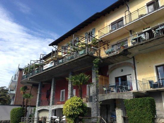 Art Hotel Posta al Lago: Die Terrasse!