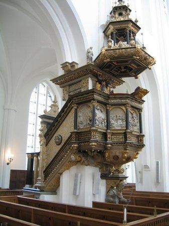 St. Petri (St. Peter's Church): Púlpito
