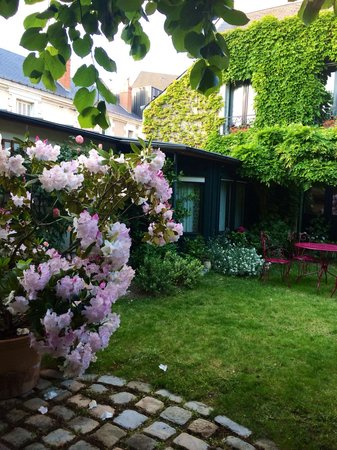 Loire Bed and Car : Garden view