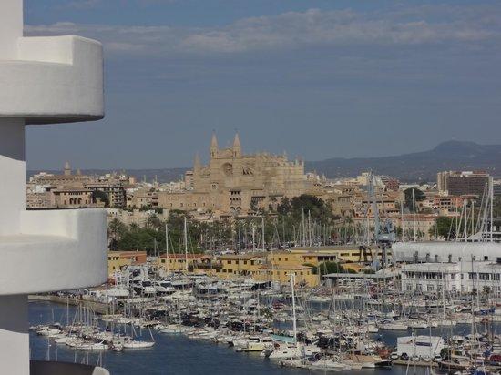 TRYP Palma Bellver Hotel: Herrlicher Blick von unserem Zimmer 1325