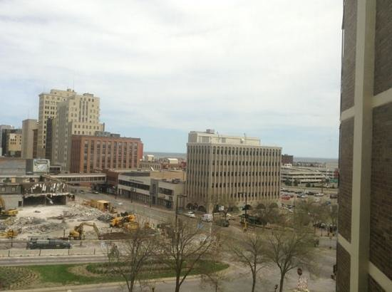Radisson Hotel Duluth - Harborview : view from 408