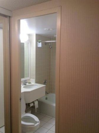 Radisson Hotel Duluth - Harborview: bathroom 408