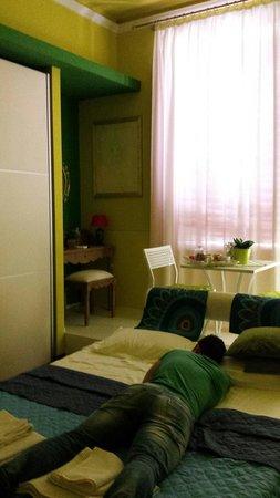 B&B La Casa dell'Artista: Green room....