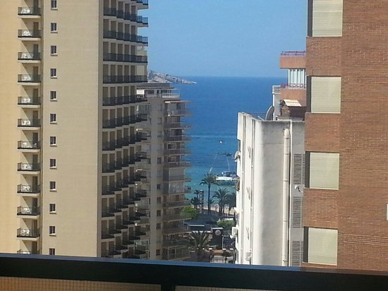 Apartamentos Levante Beach : View from room