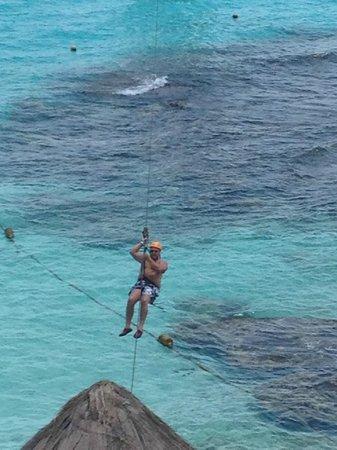 Garrafon Natural Reef Park : Kim on final journey