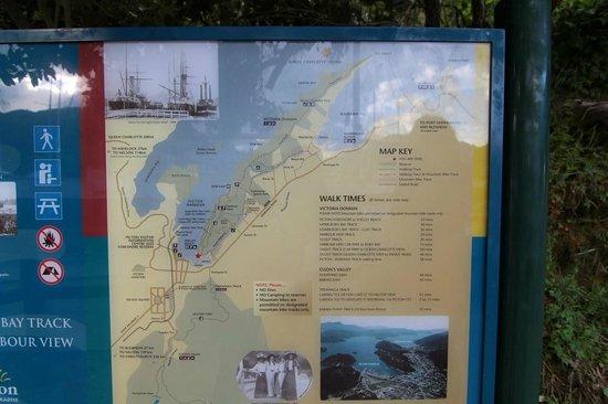 Picton Sound : Trail map