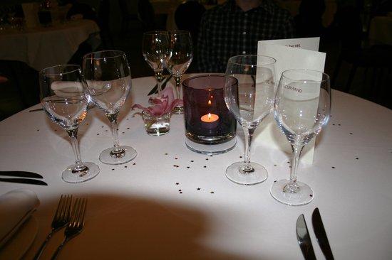 Le Pré Gourmand : Наш столик
