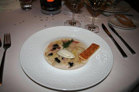 Le Pré Gourmand : Новогодний ужин