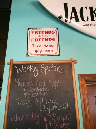 Woody's Dewey Beach Bar & Grill: So true...