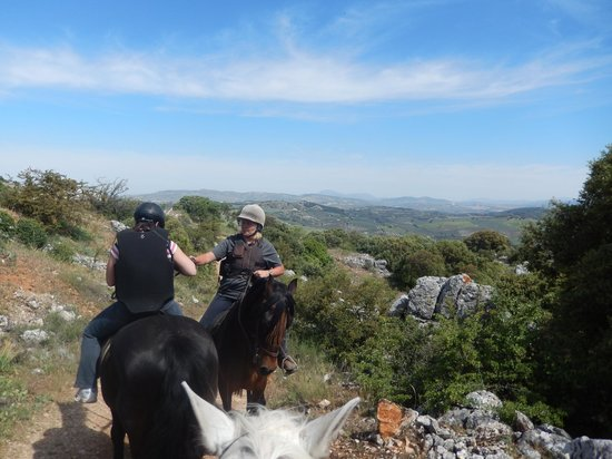 Sierra Pelada Horse Riding School: Have you seen the view?