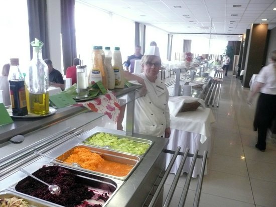 Spa Hotel Velka Fatra: Proud chef