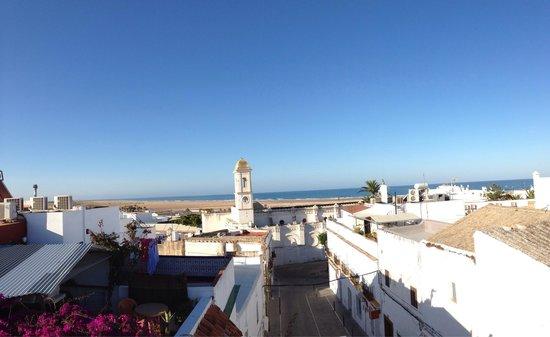 Almadraba: Vista desde la terraza