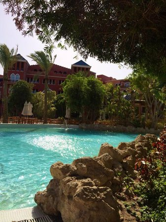 The Grand Resort Hurghada: One of the main pools