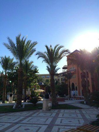 The Grand Resort Hurghada: As the sun sets