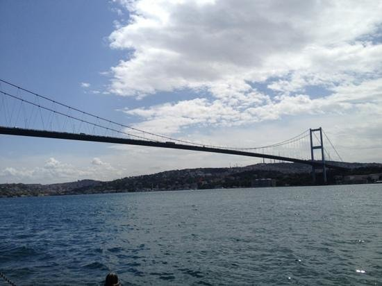 Ortakoy : Bosphorus Bridge from Ortaköy