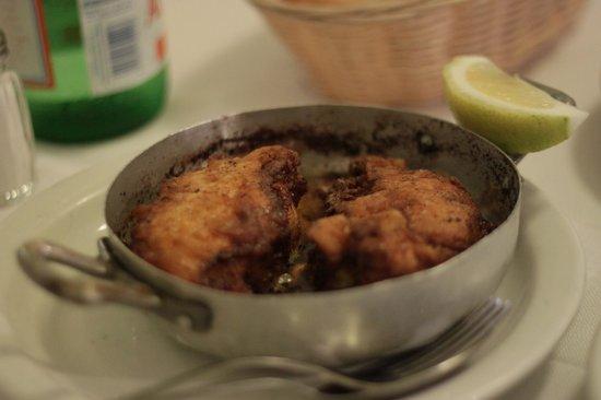 Trattoria Sostanza: Butter pollo