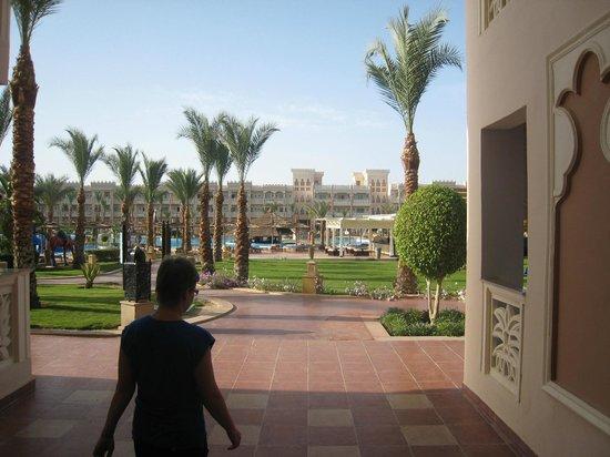 The Grand Resort Hurghada: Территория отеля