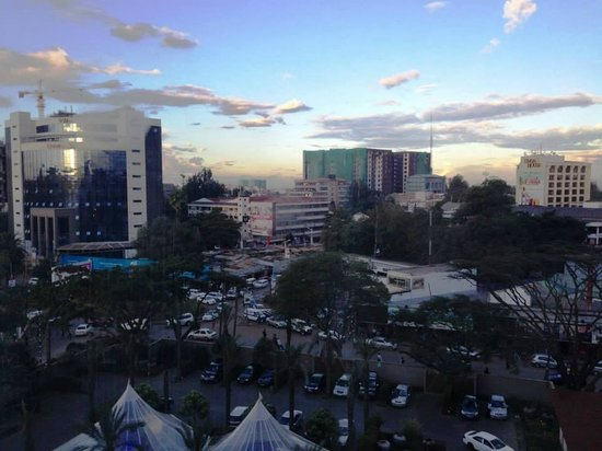 Sankara Nairobi: View from room 6017