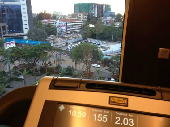 Sankara Nairobi: Gym with a view