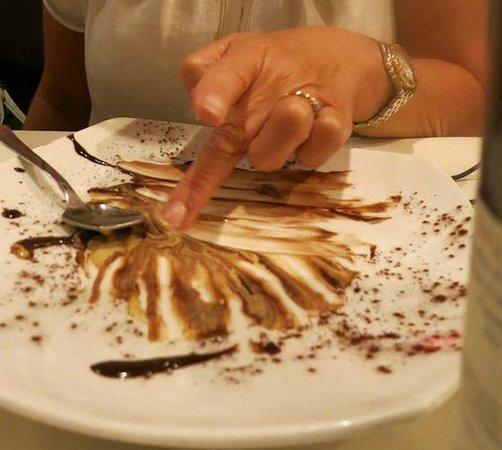 La Maremma : finger looking good dessert