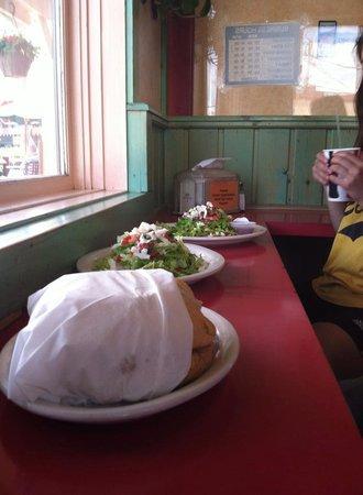 Taqueria Sanchez: Eating at the bar