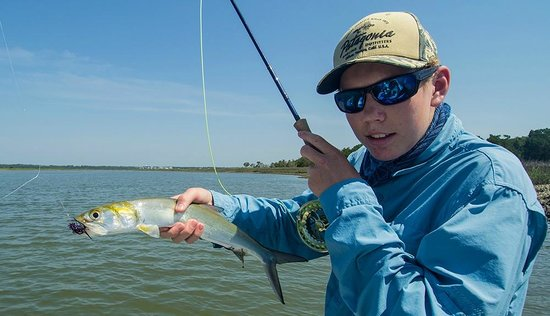 Carolina Guide Service Fishing Charters: Fun Fighting Ladyfish