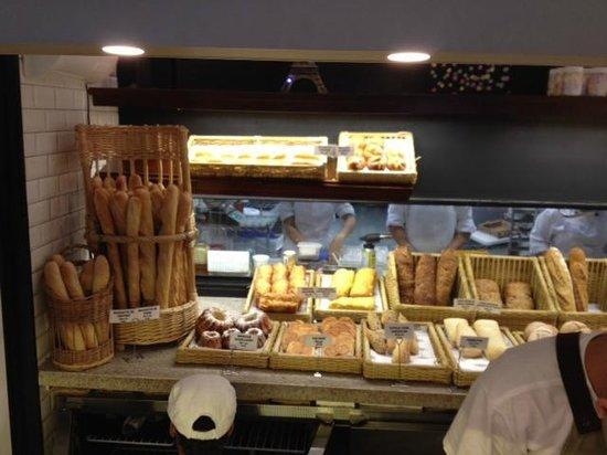 Boulangerie Guerin : Apresentação dos pães
