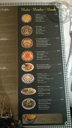 Chez Leon: lista cozze al forno