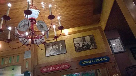 Chez Leon: il locale, interno
