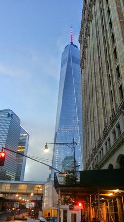 New York Marriott Downtown : View of the FREEDOM Tower
