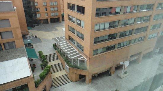 Bogota Marriott Hotel: Vista de la habitación