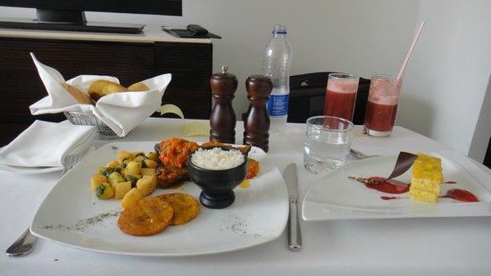 Bogota Marriott Hotel: Room service