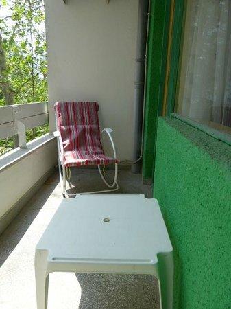 Hotel Siret: Room Balcony